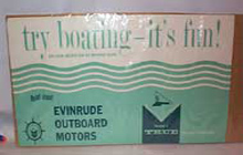 Evinrude Boat Motors Advertisement