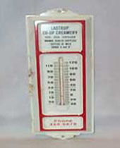 Lastrup Co-Op Creamery Thermometer
