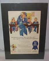 Pabst Blue Ribbon Beer War Bond Poster