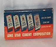 Lone Star Cement Co. Original Cardboard Box