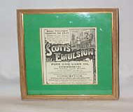 Scott's Emulsion Pure Cod Liver Oil Original Ad