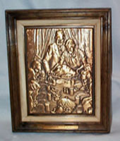 Freedom from Want, Norman Rockwell Bronze Plaque