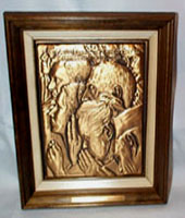 Freedom of Worship, Norman Rockwell Bronze PLaque