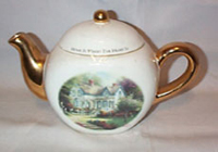 Thomas Kincade Tea Pot