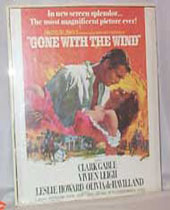 Gone With The Wind Poster, Litho of 1939 Movie