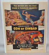Son of Sinbad Movie Advertising Poster