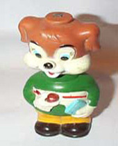 Bobble Head wind-up vintage toy Dog