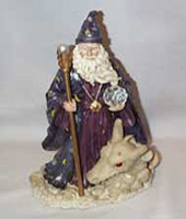 Wizard Statue Gothic Legends Collection