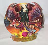 Wizard & Dragon Plate, Midori Mint collection