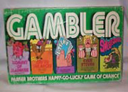 Gambler Game by Parker Bros 1977