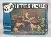 Vintage Guild Picture Puzzle, Hunting Dogs