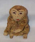 Wind-up Toy Monkey, vintage