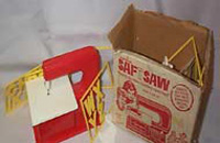 Saf T Saw by Carnival, Kids Electric Jig Saw with original Box