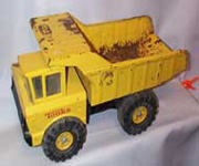 Tonka Yellow Metal Dump Truck