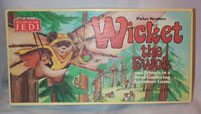 """Wicket The Ewok"" Board Game by Parker Brothers 1983"