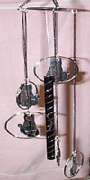 Black Cat Wind Chimes